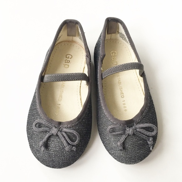 GAP Other - Like New BabyGap Sparkly Ballerina Shoes